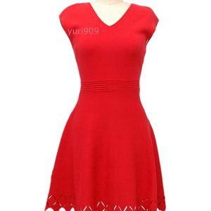 Ted Baker Red Tannia Skater Casual Dress